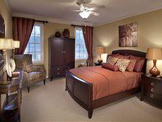 Dormitorio Feng-Shui estilo romántico • Romantic style Feng-Shui bedroom