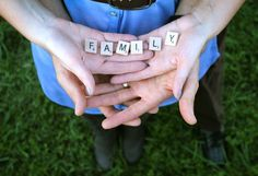 totally doing this when/if i get pregnant... but will spell out babies name with letters! :D
