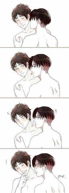 Riren//Levi x Eren. ♥