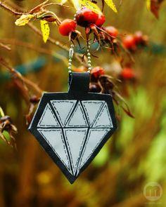 Homemade diamondreflector
