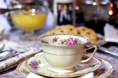 My Cozy Corner Thomas Ivery~Bavaria Germany Tea cup, saucer and dessert plate