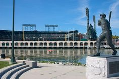 McCovey Cove----got to make it there some day soon to see mom and dad's brick and take a picture of it.