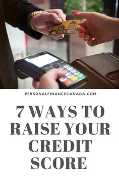 You can raise your credit score with a few easy steps! #finance #financialplanning #debt #budgeting #budgetingtips #money #moneysavingtips #financialfreedom