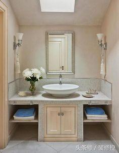 不容錯過的28款磚砌洗手盆裝修效果 - 每日頭條
