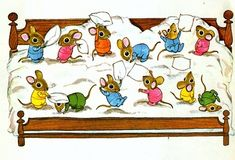 Pillow Fight by Richard Scarry. I loved Richard Scarry as a kid! He has a great illustration style. Richard Scarry, Art And Illustration, Book Illustrations, Beatrix Potter, Photo Images, Pillow Fight, Vintage Children's Books, Children's Literature, Childrens Books