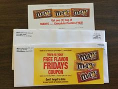 Free M&M Product Cou