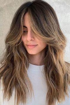 Bangs With Medium Hair, Long Hair Cuts, Medium Hair Styles, Long Hair Styles, Hair Styles Straight, Girls With Long Hair, Bangs For Long Hair, Straight Long Hair, Long Length Hair