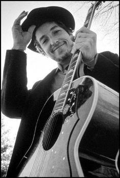 Elliot Landy/Magnum Photos Bob Dylan - New York,1968