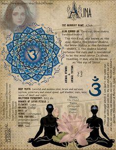 The Sixth Chakra ( (Ajna/Third Eye/ Brow Chakra) Chakra Meditation, Chakra Healing, Sanskrit, Reiki, Kundalini, Spiritual Prayers, Ayurveda, Third Eye Chakra, Practical Magic