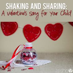 A Valentines Song for Your Child  #howdoesshe #v-daysong #valentinesday #valentinesactivity  howdoesshe.com