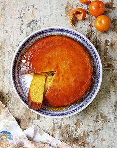 Sticky Clementine Cake ~ drizzle cake recipe from the cookbook 'The Great British Bake Off: Winter Kitchen' Great British Bake Off, Sweet Recipes, Cake Recipes, Dessert Recipes, Drink Recipes, Easy Baking Recipes, Cooking Recipes, Baking Ideas, Clementine Cake