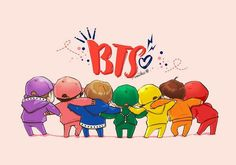 Everything is going to be nice with together👊 Bts Chibi, Anime Chibi, Fansign Bts, Bts Pictures, Photos, Bts Drawings, Bts Lockscreen, Bts Fans, Kpop Fanart