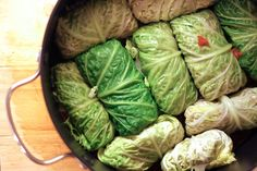Jenessa's Dinners: Eastern European Stuffed Cabbage Leaves This reminds me of my Grandma. Dairy Free Recipes, Veggie Recipes, Healthy Recipes, I Love Food, Good Food, Yummy Food, Cooking Tips, Cooking Recipes, Hungarian Recipes