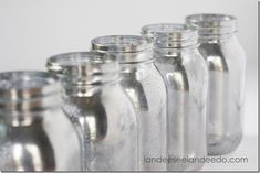 Mason Jar Mercury Glass | Mason Jar Crafts Love