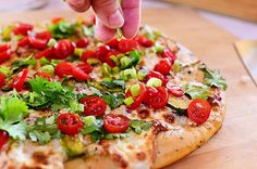 Chicken Avocado Pizza by Ree Drummond / The Pioneer Woman, via Flickr