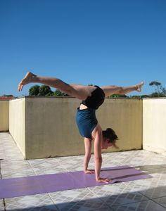handstand splits with robyn smith on pinterest  php yoga
