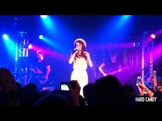 Cher Lloyd covers Robyn's Dancing On My Own at her Canal Room NYC Showcase.