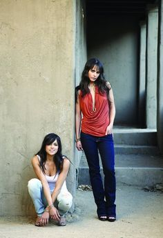 Jordana Brewster and Michelle Rodriguez, my two favorite actresses. Part of the Fast and Furious franchise, my fav movie trilogy of all time.