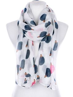 This adorable scarf. | Community Post: 44 Amazingly Cute Products Every Hedgehog Lover Needs