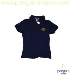 Penguin Shoppe Gifts! Alumna Navy Polo with Gold Letters