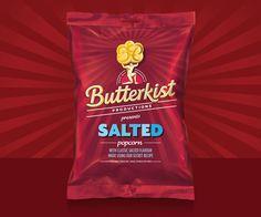 Great popcorn packaging designs