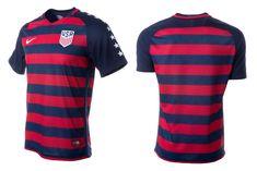 Camisas dos Estados Unidos para a Copa Ouro 2017 Nike 1a9c407623cd1