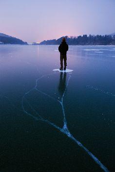 Nice work, Reuben. You froze a whole lake.
