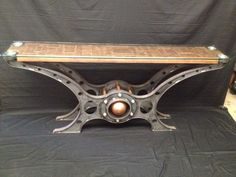 Copper table  Made by machine brothers