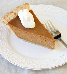 Easy Foolproof Pumpkin Pie