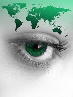 World eyes.
