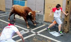 Think before you run. Pamplona is dangerous.