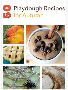 50 Playdough Recipes for Autumn