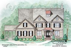 Breitling Manor - House Plan # 01222 | Craftsman House Plans