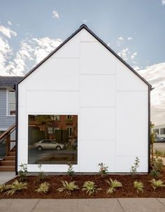 Portland studio Architecture Building Culture has created a gabled structure to accommodate more residents at a local communal home for new mothers