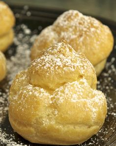 Paula's Plate: Perfect Cream Puffs-- another great site for Cream Puffs!  Easy & cheap-- really yummy!