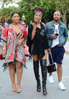 Keke Palmer from The Big Picture: Today's Hot Pics  Mwah! The starblows a kiss while enjoying the New Year with friends in Miami.