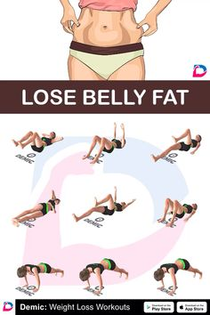 Summer Body Workouts, Gym Workout For Beginners, Fitness Workout For Women, Workout Videos, Lower Belly Pooch, Lower Belly Workout, Lose Belly Fat, Exercise, Profile