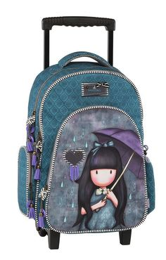 Santoro Gorjuss Τσάντα Trolley My Umbrella Santoro London, Xmas Gifts, Backpacks, Bags, Beautiful, Collection, Ideas, Fashion, Family Homes
