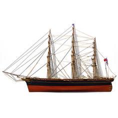 1:84 Cutty Sark scale model ship
