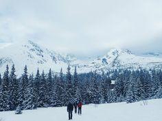 Unforgettable view of the High Tatras.⠀ ⠀ #tatry #mountains #tpn #tatry360 #halagasienicowa #outdoors #trekking #neverstopexploring #snow #winter #tatrzanskiparknarodowy #tatrymountains #hiking #góry...