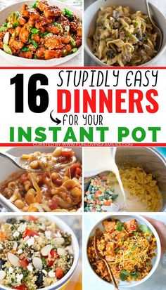 One Pot Dinners, Easy To Make Dinners, Easy Weeknight Meals, Instant Pot Dinner Recipes, Easy Dinner Recipes, Breakfast Recipes, Cooking Spaghetti Squash, Healthy Dinner Options, Small Pasta