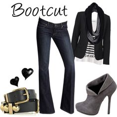 Boot cut will always be my fav. kind of jeans!