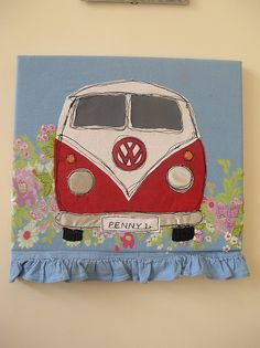 VW bus.. definately making this!!!!