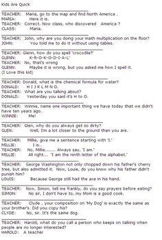 hahaa(: smart little kids.