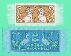 Assisi Embroidery Bookmarks