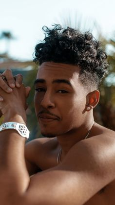 hairstyle names mens / hairstyle names Cute Lightskinned Boys, Cute Black Guys, Gorgeous Black Men, Beautiful Men, Fine Black Men, Handsome Black Men, Black Women, Fine Men, Black Men Haircuts