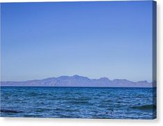 Sea, Earth, Sky - Canvas Print – City Meets Sea Canvas Prints, Earth, Sky, Water, Artwork, Travel, Heaven, Gripe Water, Work Of Art