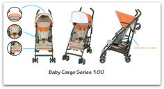 Everyday Adventures in the Baby Cargo Series 100 Lightweight Umbrella Stroller (plus discount code)