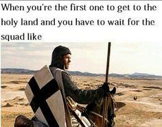 Medieval Crusade meme