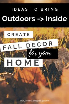 Cozy Rustic Home Decor Ideas for the Fall that are Budget Friendly - Modern Moms Lifestyle